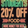 Student Discount at Pizza Hut